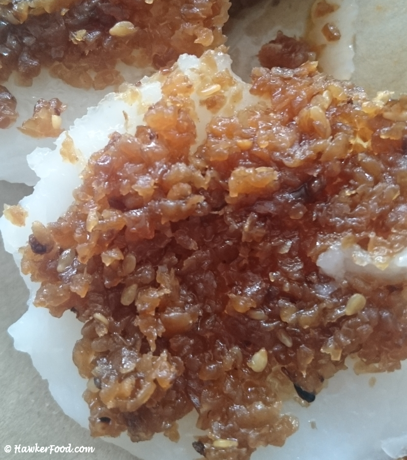 Bedok Chwee Kueh up close