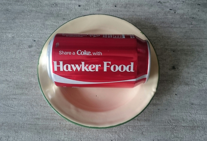 hawker food and coke