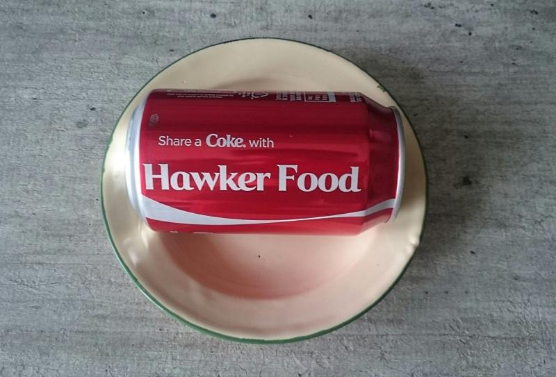 hawker food and coke