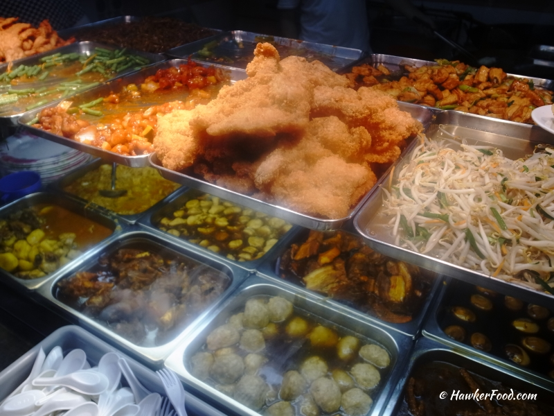 Dragon Village Hainanese Curry Rice selections
