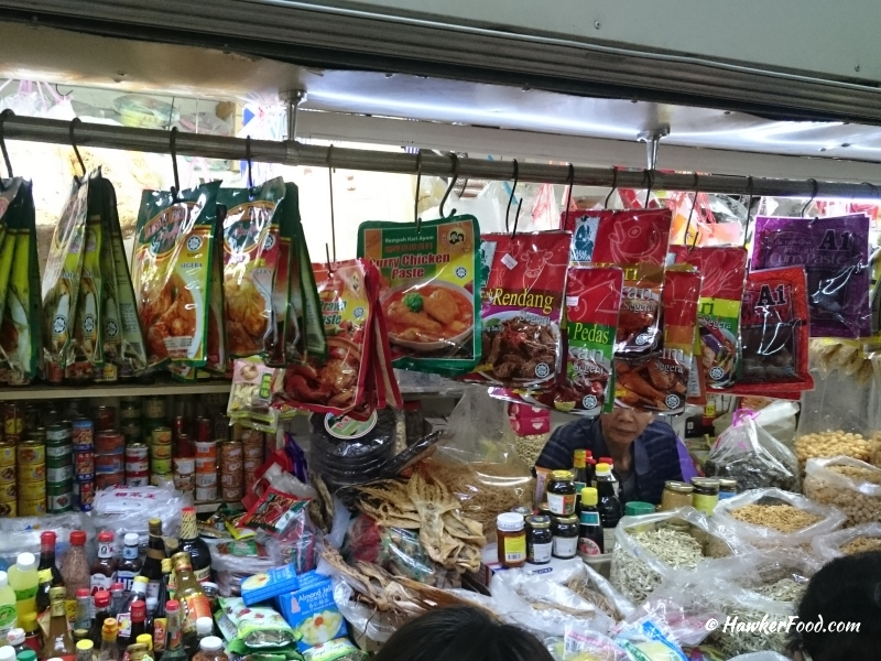 wet markets - dried goods stall
