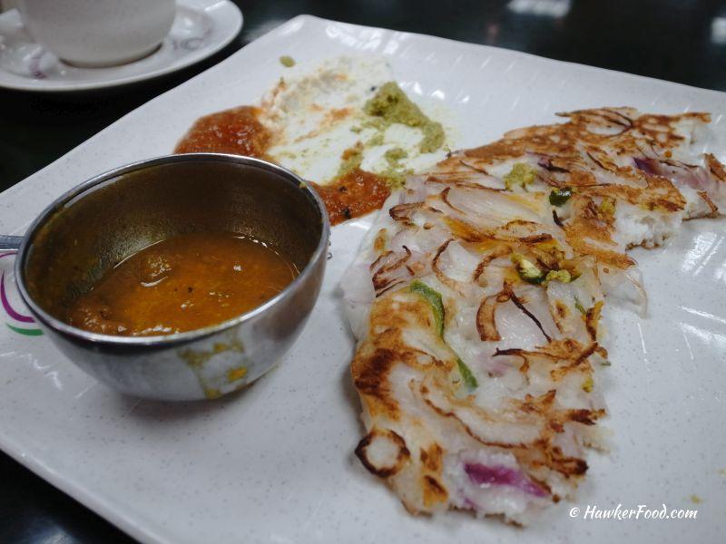 ananda bhavan vegetarian onion uthappam 2