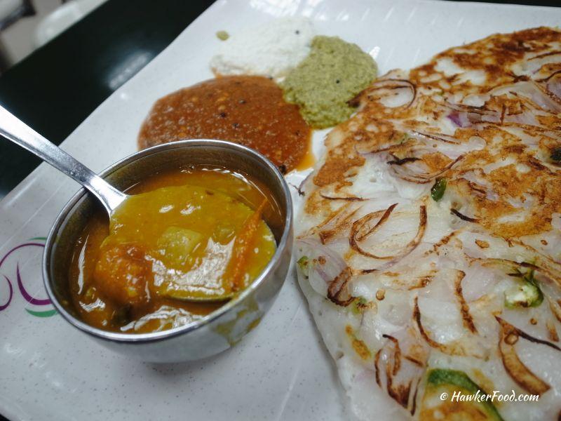 ananda bhavan vegetarian onion uthappam sauces