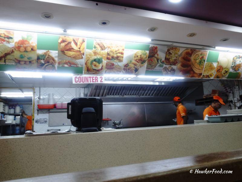 ananda bhavan vegetarian takeway counter