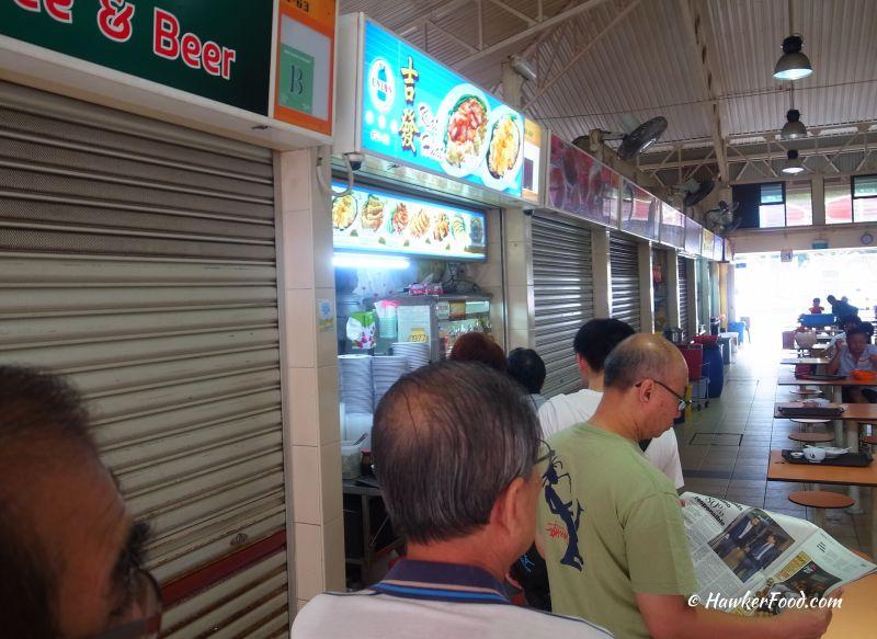 kiat huat wanton noodle queue