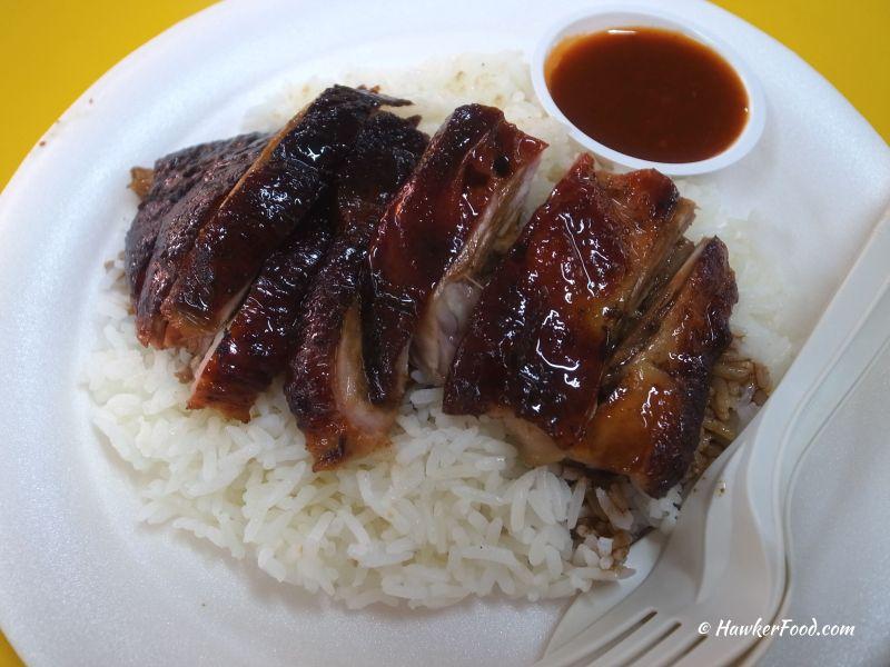 toh kee roast duck rice