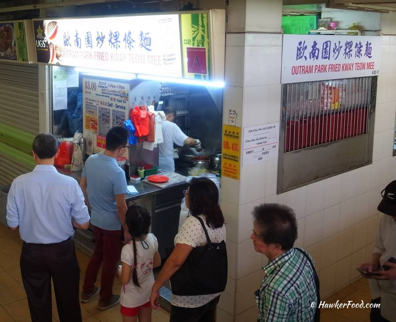 outram park fried kway teow stall