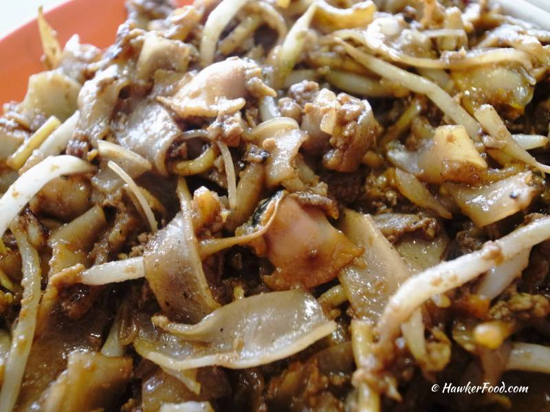 outram park fried kway teow upclose