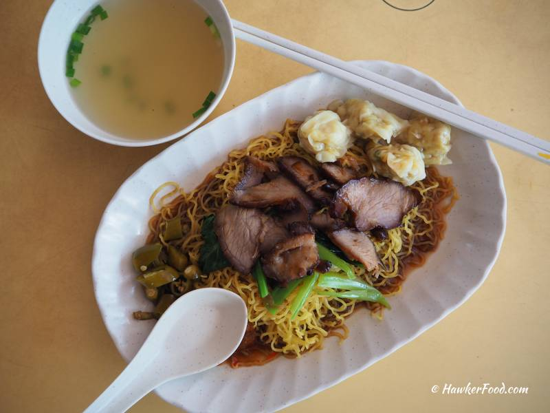 Ah Wing's Wanton Mee top