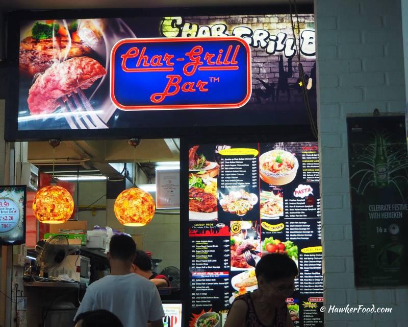 Char-Grill Bar Stall