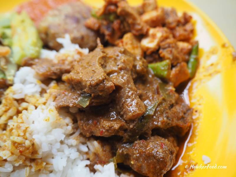 Maisal Nasi Padang Beef Rendang