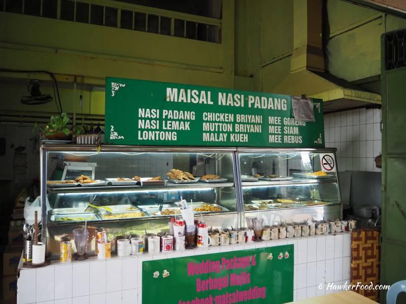 Maisal Nasi Padang Stall