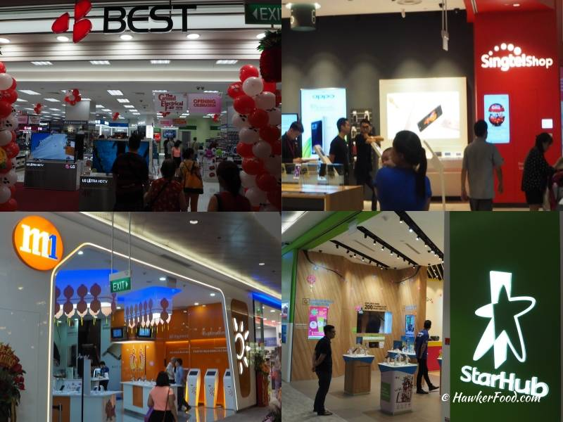 waterway point best denki singtel starhub m1