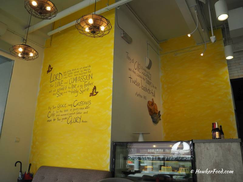 crossings cafe interior