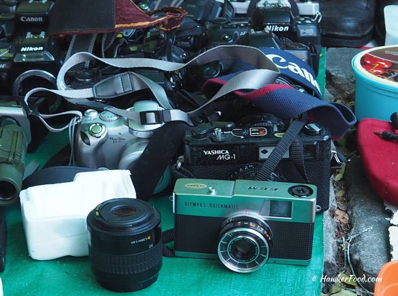 Sungei Road Thieves Market Cameras
