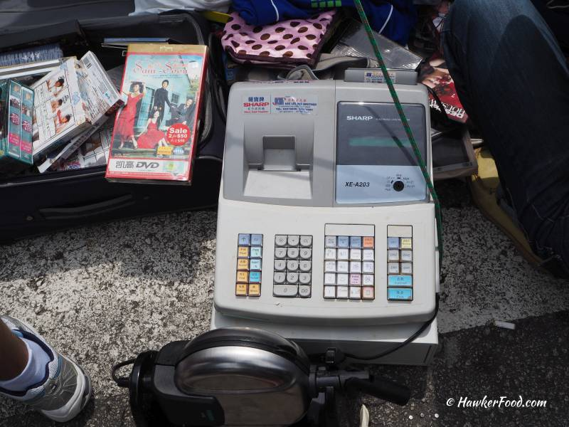 Sungei Road Thieves Market Cash Register