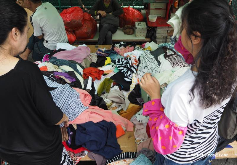 Sungei Road Thieves Market Clothing