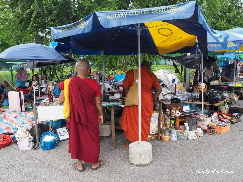 Sungei Road Thieves Market Monks