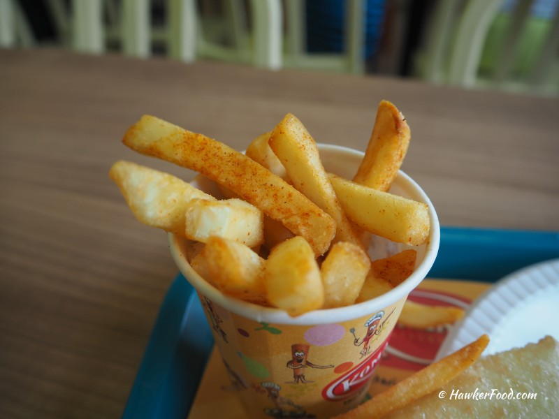 Komala's Restaurant Fries