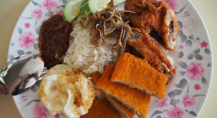 International Muslim Food Stall Nasi Lemak