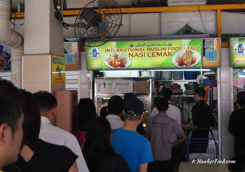 International Muslim Food Stall