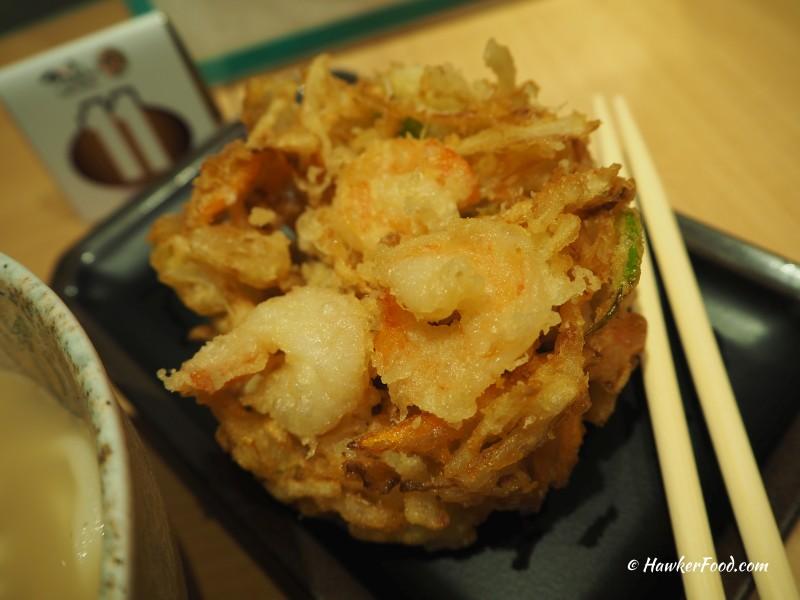 tsuru-koshi udon kakiage