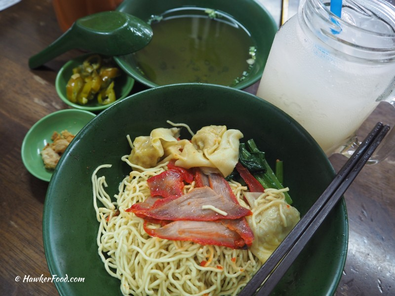 Eng's Noodles House wanton mee