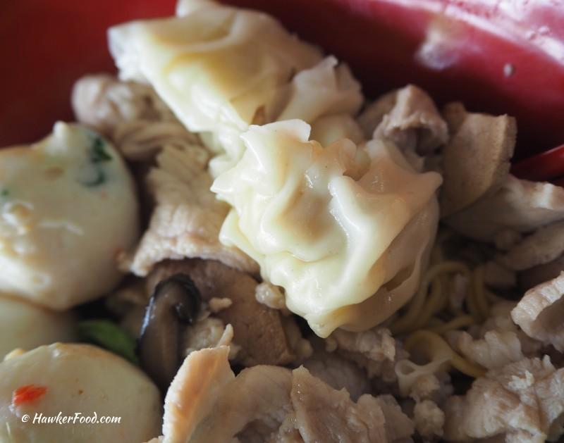 Boat Quay (Original) Mushroom Noodle dumpling