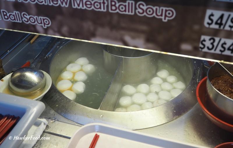 Boat Quay (Original) Mushroom Noodle fish balls