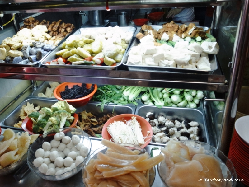 Special Chilli Yong Tau Foo Stall Selection