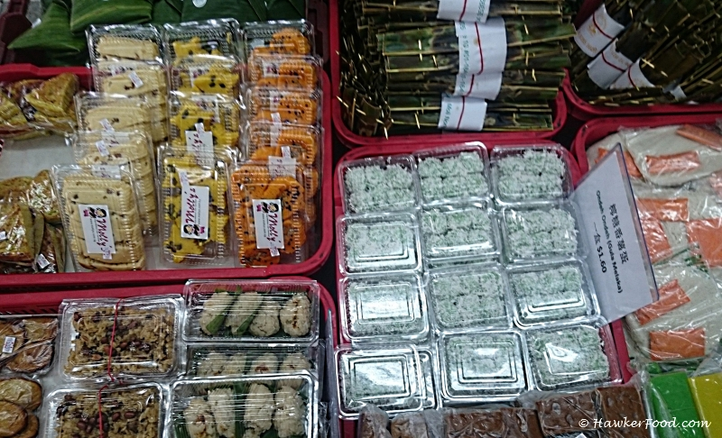 molly nonya kueh packed assorted kuehs