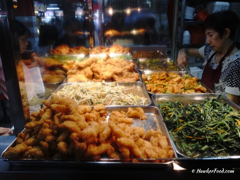 Dragon Village Hainanese Curry Rice dishes