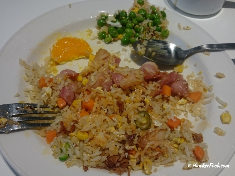 fried rice with peas