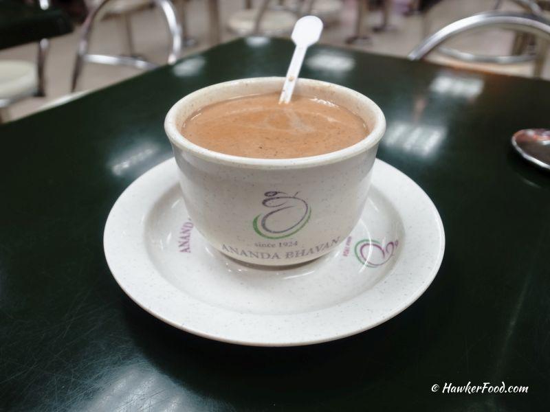 ananda bhavan vegetarian masala tea