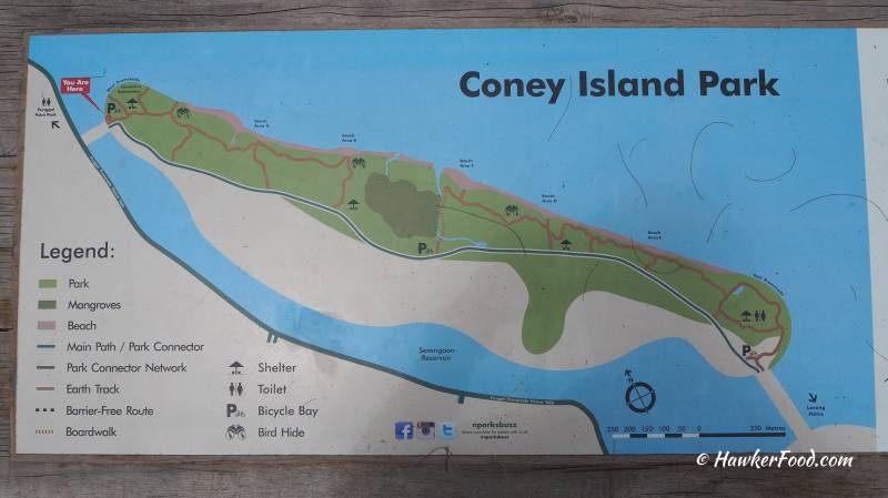 coney island park map