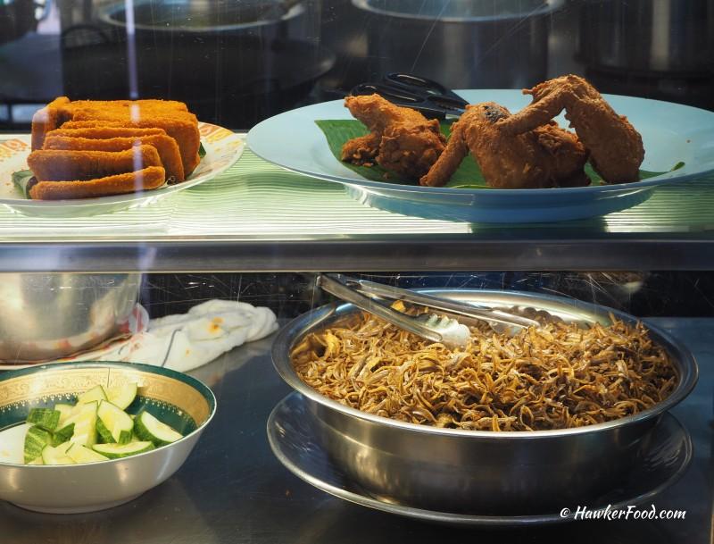 International Muslim Food Stall front